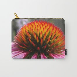 Lavender Echinacea/Coneflower Carry-All Pouch