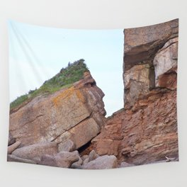 Indian Head Rock Wall Tapestry