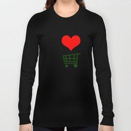 I Love to Shop Long Sleeve T-shirt