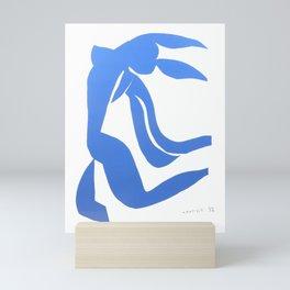 Henri Matisse,Le chevelure från 1952, Blue Hair Artwork, Men, Women, Youth Mini Art Print