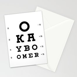 Ok Boomer Stationery Cards