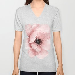 Flower 21 Art Unisex V-Neck
