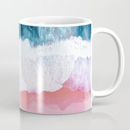 Aerial Coastal View Coffee Mug