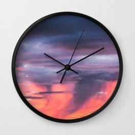 Coromandel Sunset Wall Clock
