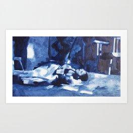 Cinders Art Print