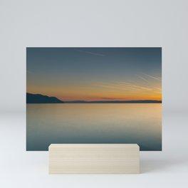 Chillon Panorama Mini Art Print