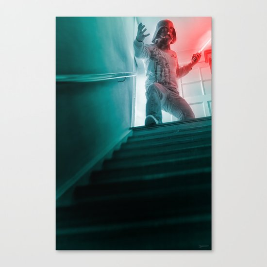 """I am no stranger to the dark side"" Canvas Print"