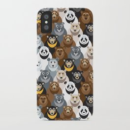 Bears Bears Bears iPhone Case