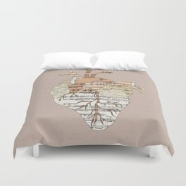 Sound Of My Heart Duvet Cover