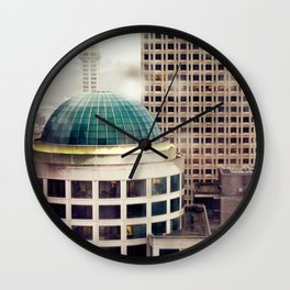 Seattle Plate II Wall Clock