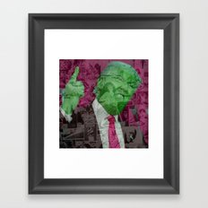 Trump the Barbarian Framed Art Print