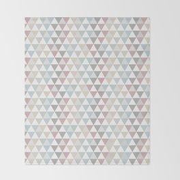 Geometric Pattern Wanderlust Pastel Throw Blanket