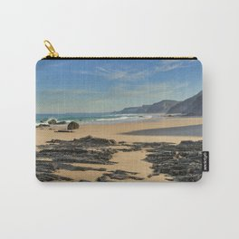 Rock formations on the Costa Vicentina Carry-All Pouch