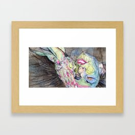 TheRightWay? Framed Art Print
