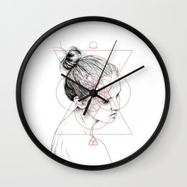 Face Facts II Wall Clock