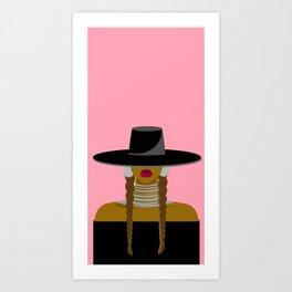 Shante You Slay Art Print