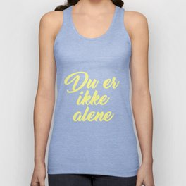 SKAM - Evak - Du er ikke alene // You're not alone Unisex Tank Top