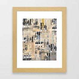 foregret Framed Art Print