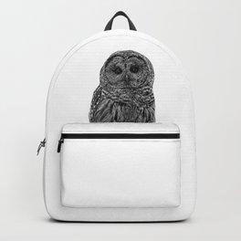 owl b&w III Backpack