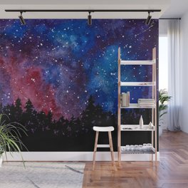 Forest Watercolors Wall Mural