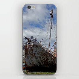 Whaling Ship iPhone Skin