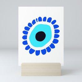 Greek Eye Symbol Mini Art Print