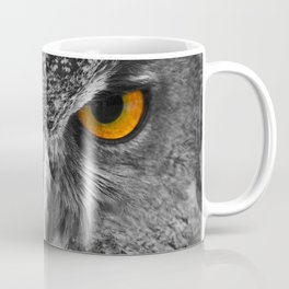 The Eyes of a European Eagle Owl Coffee Mug