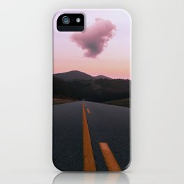 Road Red Cloud iPhone Case