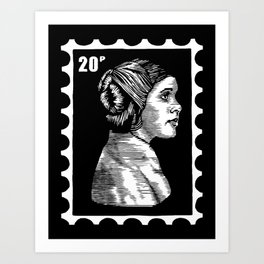 Rebel Alliance Stamp I Art Print