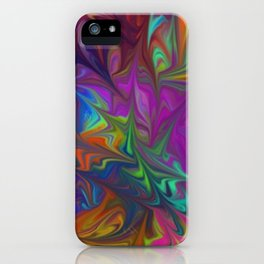 Colors Abstract Fantasy iPhone Case