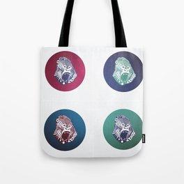 Gorillas Tote Bag