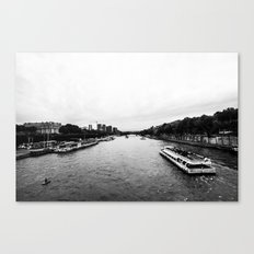 The Seine  Canvas Print