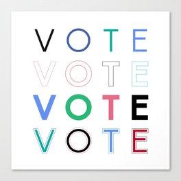 Vote Baby Vote 031816 Canvas Print