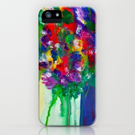 Wildflowers - Cheerful - Botanical iPhone Case