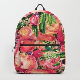 Pretty Peonies Backpack