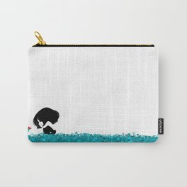 Clover and Coccinelle Carry-All Pouch