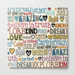 believe in truth Metal Print