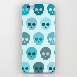 Colorful Skull Cute Pattern II iPhone Skin