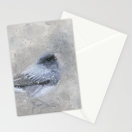 Dark Eyed Junco Bird Stationery Cards