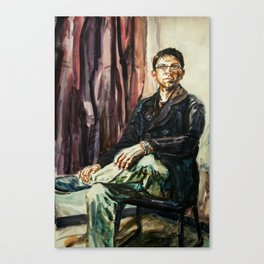 Rudy After Sargent Canvas Print