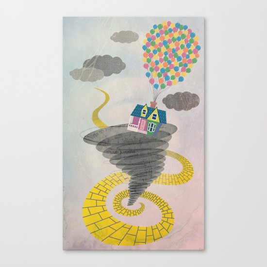 The Wizard of Up Canvas Print