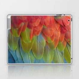 Macaw Feathers. Laptop & iPad Skin