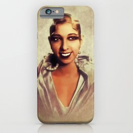 Josephine Baker, Vintage Entertainer iPhone Case