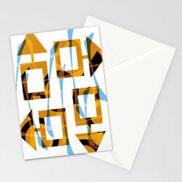 Autumn labyrinthe Stationery Cards
