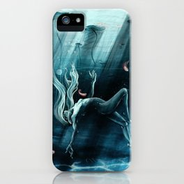 Dance of the Waterlily iPhone Case