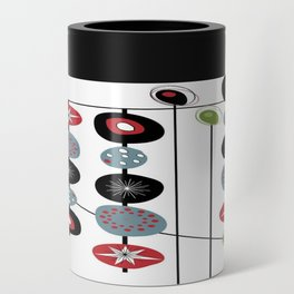 Mid-Century Modern Art Atomic Cocktail 2.0 Can Cooler