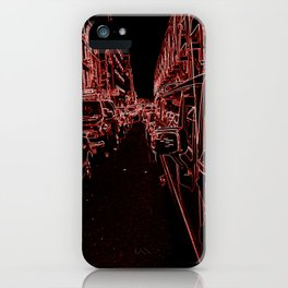 Streets of Singularity iPhone Case
