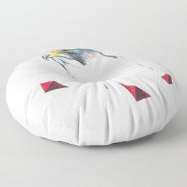 Biggest Cracker Peregrine Falcon Floor Pillow