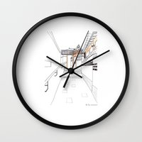 seoul Wall Clocks featuring SEOUL MOMENT_02 by By-EunEun