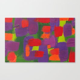 ABSTRACT COLOR 5 Canvas Print